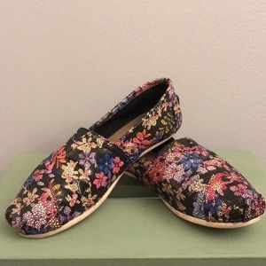 Toms Leather Slip-ons (Neiman Marcus Exclusive)